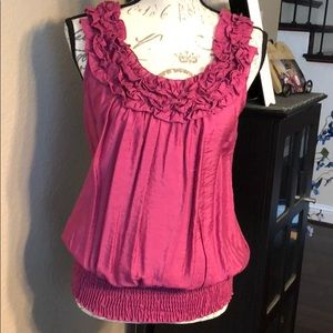 Super Cute pink size Med blouse